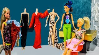 Холостяк 6 сезон 4 серия Барби выбирает платье на шоу Холостяк Магазин Барби #МалинкиDOLL