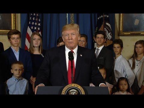 President Donald Trump full statement on health care from the White House