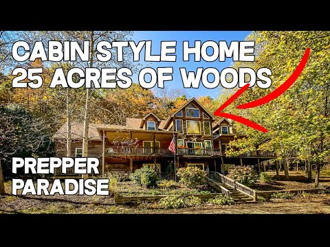 Artist Retreat, Log Cabin style Cypress home 25 acres, Live water creek, Prepper paradise for sale