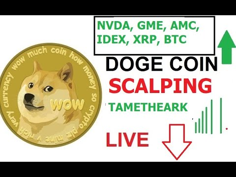 Scalping  Doge Live Chart BTC Prices - Elon Musk, Cathie Woods, Jack Dorsey Scalping DOGECOIN 🐋🚀