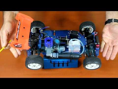 auto-radio-control-remoto-rc-a-explosión-buggy-nitro-1/10-combustion
