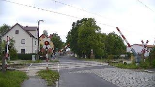 Spoorwegovergang Großenhain (D) // Railroad crossing // Bahnübergang