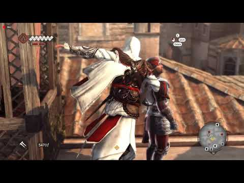 Assassins's Creed Brotherhood: Tail the Guard Carrying the Money Chest Without being seen. |