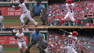 MIL@WSH: Nationals hit four straight home runs
