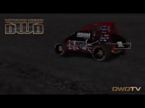 DWD 410 Nonwing test laps at Silver Dollar Speedway