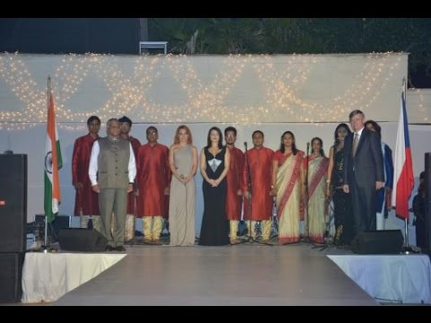 Czech Embassy National Day Reception in Delhi 30.10.2015