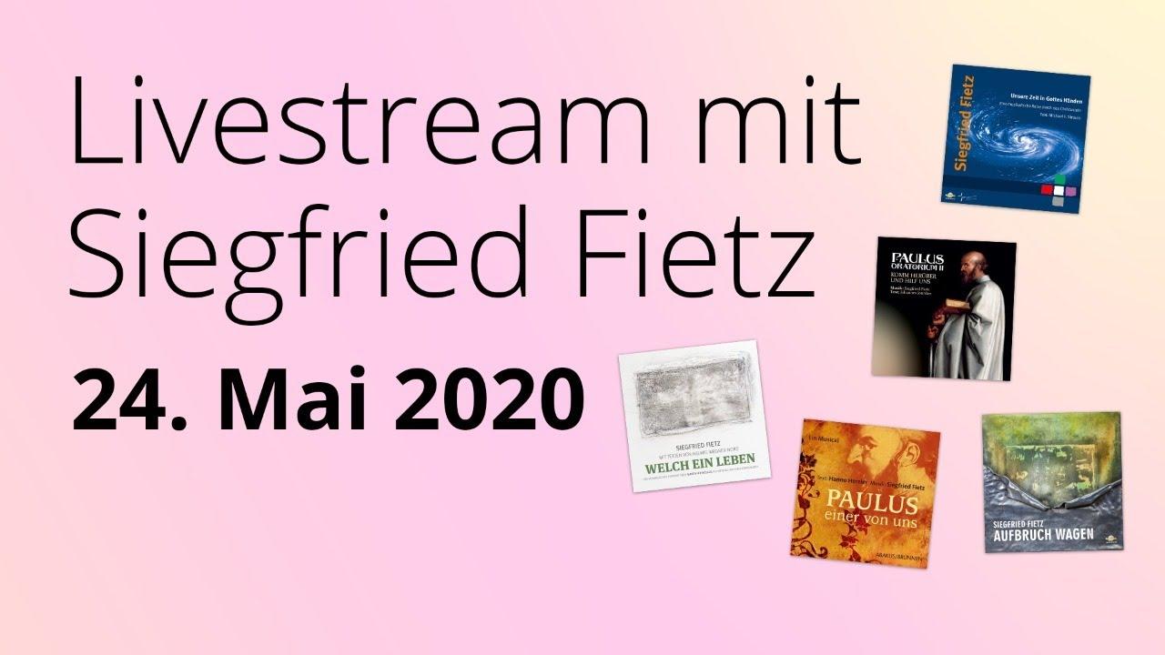 Online-Konzert am 24.05.2020