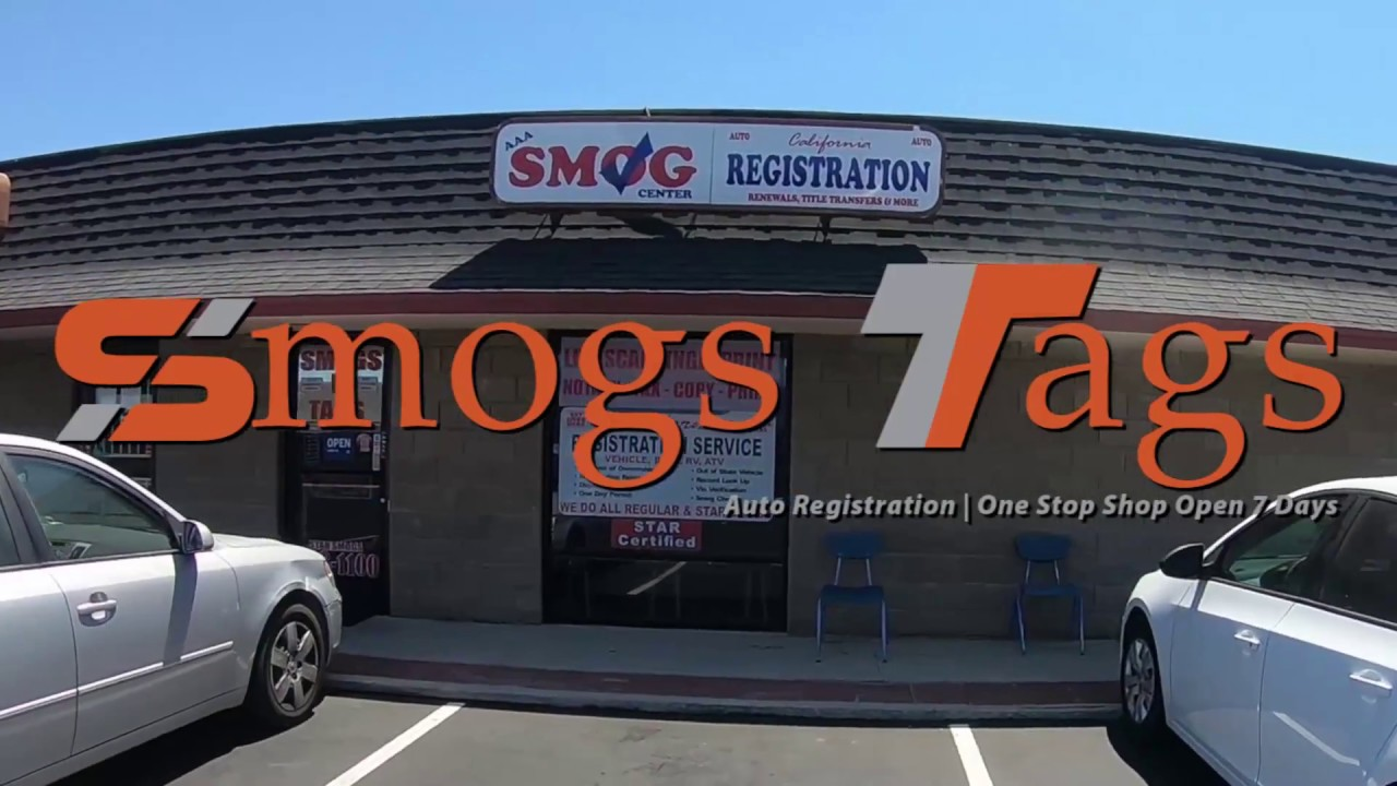 Vehicle Registration, Smog Test, Auto Registration Santee