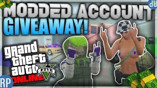 GTA5 MODDED ACCOUNT GIVEAWAY + Subscribe to camowars to win (Link Below)