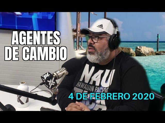 AGENTES DE CAMBIO - 4 FEBRERO 2020 - X LEVEL