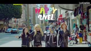 2NE1 - HAPPY M/V [English subs + Romanization + Hangul] HD