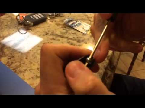 2013-2014 Honda Accord Key Fob Battery Change - YouTube