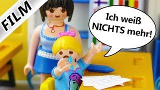 Playmobil Film deutsch | HANNAHS BLACKOUT 1. Mathearbeit bei Frau ZAHL! Kinderserie Familie Vogel