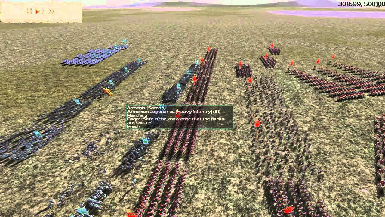 rome total war online commentary battle 4 armenia vs rome 40k cwb