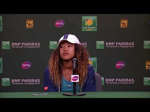 BNP Paribas Open 2018: Naomi Osaka 3R Press Conference
