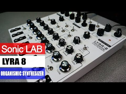 Sonic LAB: SOMA Lyra 8 Russian Drone Synth