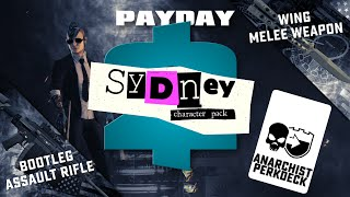 Payday 2 - Sydney Character Pack Review