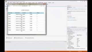 Membuat Laporan Microsoft Report Viewer VB.Net 2012