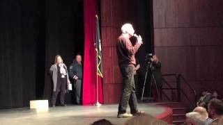 Town hall tussle U.S. Rep. Jack Bergman questioned by constituents