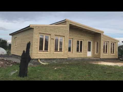 Model C1 (3 bedroom log cabin 8x12m)