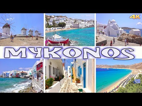 MYKONOS - GREECE 4K