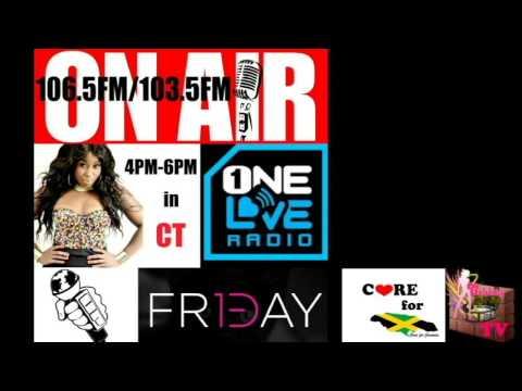 "DJ BLACK BARBIE ""ONE LOVE RADIO 106.5FM/103.5FM"" MIX"