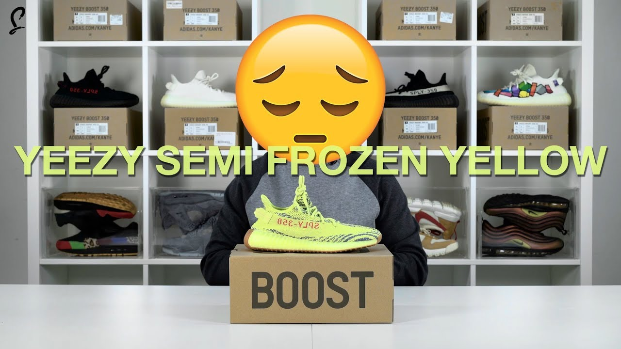 """adidas Relaunches YEEZY BOOST 350 V2 in """"Semi Frozen Yellow"""" & """"Butter"""" (UPDATE)"""
