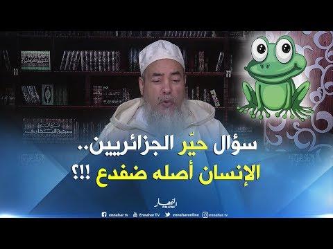 """إنصحوني / """"ياشيخ قالولي الإنسان خُلق من بيض الضفدع""""..الشيخ شمس الدّين يردّ بطريقته !!"""