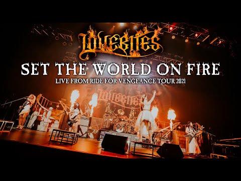 "LOVEBITES / Set The World On Fire [Live from ""Ride For Vengeance Tour 2021""]"