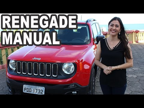 Test Drive Jeep Renegade 1.8 Sport Manual