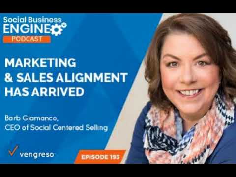 Marketing and Sales Alignment Has Arrived with Barb Giamanco