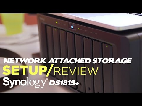 Our NEW YouTube Footage Backup System!  -  Synology DS1815+ Setup and Review