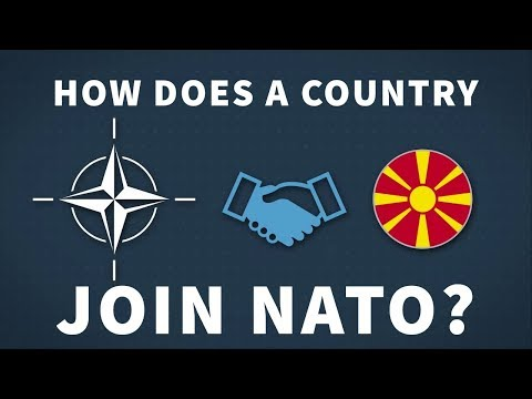 How does a country join NATO?