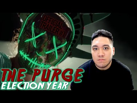 The Purge: Election Year Official Trailer #1 REACTION!!!