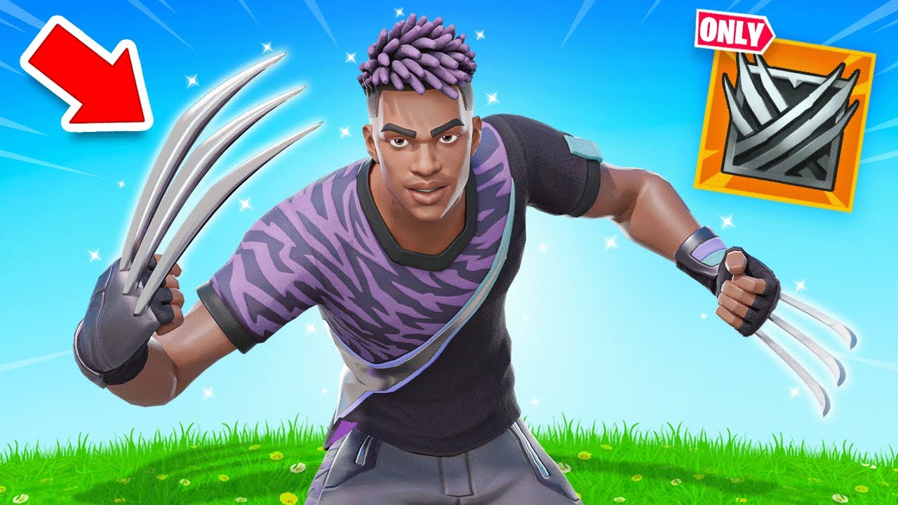 The *MYTHIC ONLY* WOLVERINE Challenge in Fortnite!