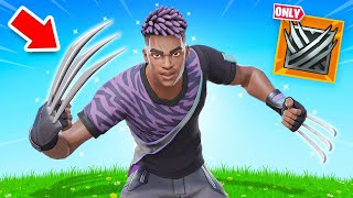 The WOLVERINE CLAWS Challenge in Fortnite!