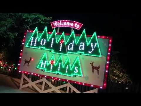 Christmas Town 2017 at Busch Gardens Tampa - YouTube
