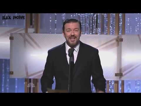 Ricky Gervais Golden Globes Mono-Open for 2010-2011-2012