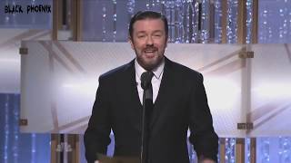 Ricky Gervais Golden Globes MonoOpen for 201020112012