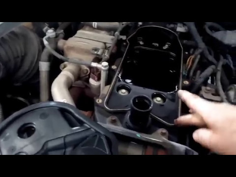 Cummins CCV-breather filter replacement - YouTube