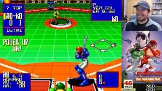 SUPER BASEBALL 2020 (Arcade / Neo Geo) || Domingos con Slobulus 40 || Gameplay en Español