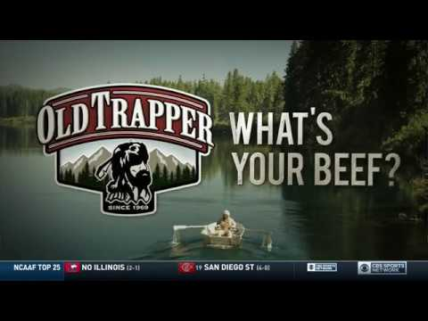 "Old Trapper ""What's Your Beef"" on CBS Sports Network"
