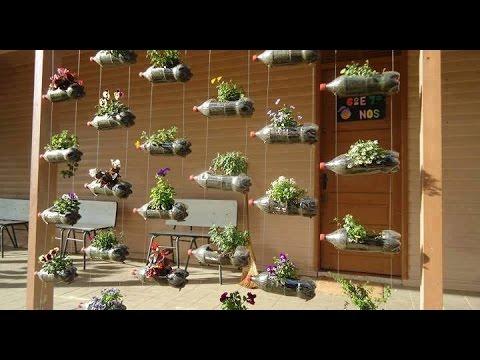 Como hacer un jardin colgante youtube - Hacer un jardin ...