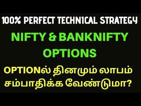 100% Perfect Technical Strategy for Index Options?  Tamil   Share   Nifty   Banknifty   Options  CTA