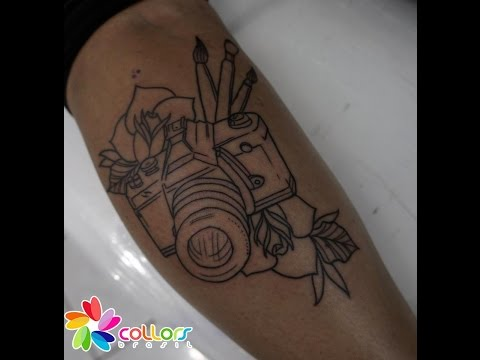Tattoo Camera Neotraditional
