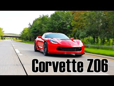 Chevrolet Corvette Z06 2018 drive, review and drag race