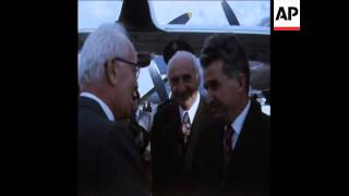 SYND 16-2-74 PRESIDENT CEAUSESCU MEETS PRESIDENT FRANGIEH