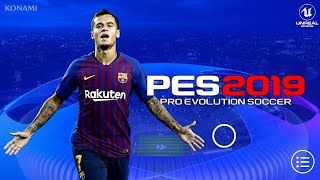PES 2019 Mobile Android UCL Graphics Patch Best Graphics
