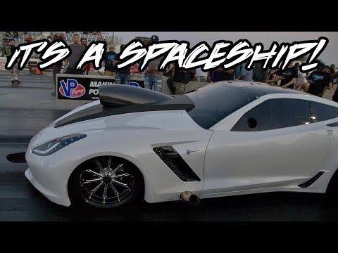THIS NITROUS CORVETTE IS NOT PLAYING ANY GAMES!! A LOT OF PRESSURE RIGHT HERE!! GHOST CORVETTE