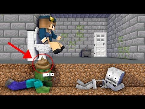 Monster School : PRISON ESCAPE  Minecraft Animation